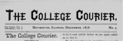 Monmouth Courier newspaper archives