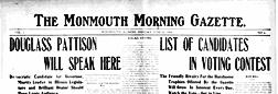 Monmouth Morning Gazette newspaper archives