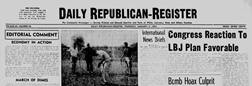 Mount Carmel Daily Republican Register newspaper archives