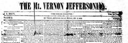 Mt Vernon Jeffersonian newspaper archives