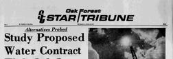 Oak Forest Star Tribune newspaper archives
