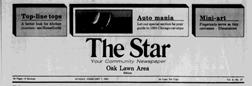 Oak Lawn Star newspaper archives