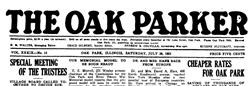 Oak Park Oak Parker newspaper archives