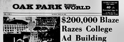 Oak Park World newspaper archives