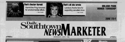 Orland Park Daily Southtown News Marketer newspaper archives