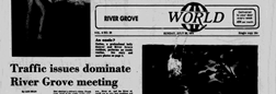 River Grove World newspaper archives