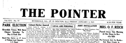 Riverdale Pointer newspaper archives