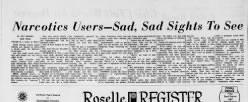 Roselle Register newspaper archives