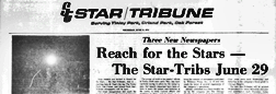 Tinley Park Star Tribune newspaper archives