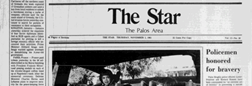 Tinley Park Star newspaper archives