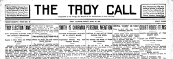 Troy Call newspaper archives