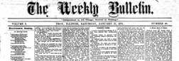 Weekly Bulletin newspaper archives