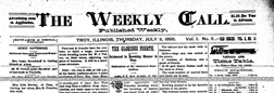 Weekly Call newspaper archives