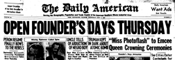 West Frankfort Daily American newspaper archives