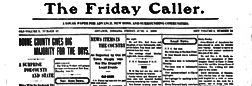 Advance Friday Caller newspaper archives