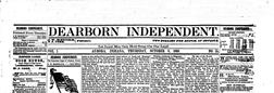 Aurora Dearborn Independent newspaper archives