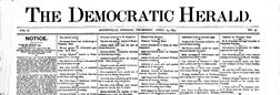 Batesville Democrat Herald newspaper archives