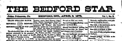 Bedford Star newspaper archives