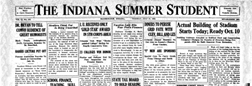Bloomington Indiana Summer Student newspaper archives