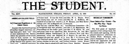 Bloomington Student newspaper archives