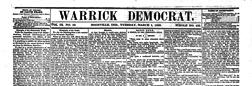 Boonville Warrick Democrat newspaper archives