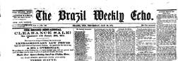 Brazil Weekly Echo newspaper archives
