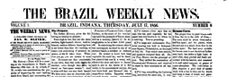 Brazil Weekly News newspaper archives