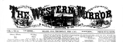 Brazil Western Mirror newspaper archives