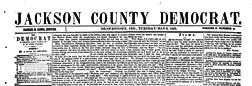 Brownstown Jackson County Democrat newspaper archives