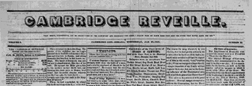 Cambridge Reveille newspaper archives