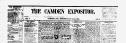 Camden Expositor newspaper archives