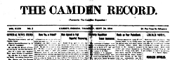 Camden Record newspaper archives