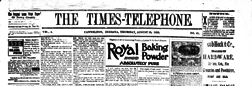 Cannelton Times Telephone newspaper archives