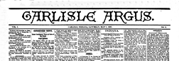 Carlisle Argus newspaper archives