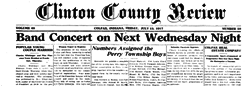Colfax Clinton County Review newspaper archives
