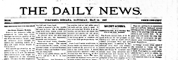 Columbus Daily News newspaper archives