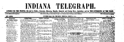Connersville Indiana Telegraph newspaper archives