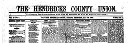 Danville Hendricks County Union newspaper archives