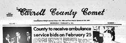 Delphi Carroll County Comet newspaper archives