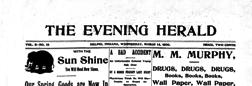 Delphi Evening Herald newspaper archives