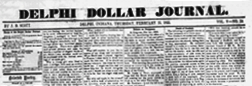 Delphi Journal newspaper archives