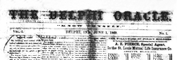 Delphi Oracle newspaper archives