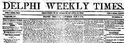 Delphi Times newspaper archives