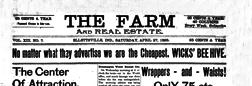Ellettsville Farm newspaper archives