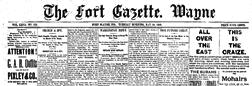 Fort Gazette Wayne newspaper archives