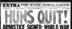 Fort Wayne Journal Gazette newspaper archives