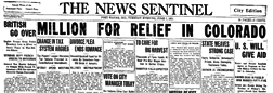 Fort Wayne News Sentinel newspaper archives