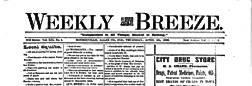 Fort Wayne Weekly Breeze newspaper archives