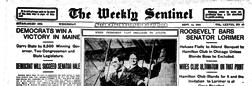 Sentinel Fort Wayne Weekly newspaper archives