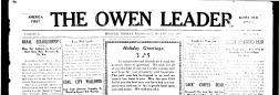 Galveston Owen Leader newspaper archives